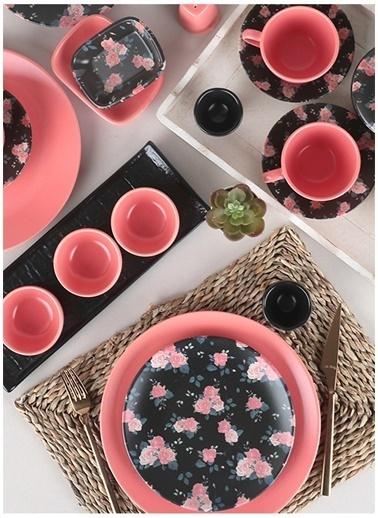 Keramika Kahvaltı Takımı Siyah